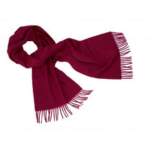 Load image into Gallery viewer, Wine Cashmere Scarf