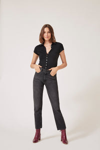 Jeans droit JONAS Denim - Black