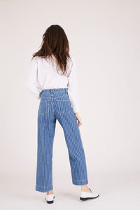 SULLY Denim Stripe - Blue