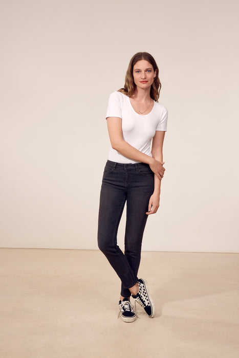 Jeans slim ELLA Denim - Dark grey