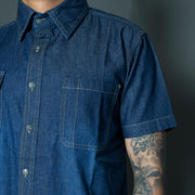CHAMBRAY WORKSHIRT SHORT SLEEVE 3021