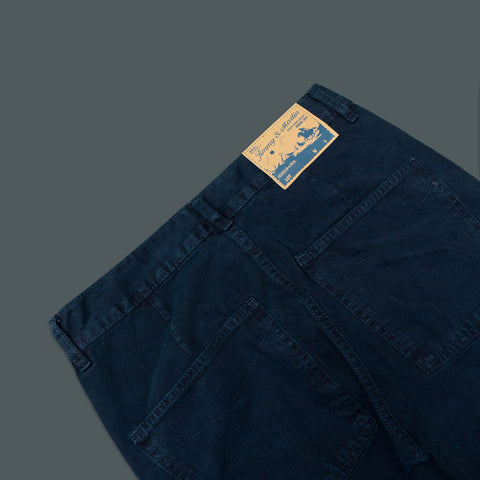 SLIM STRAIGHT LIGHT TWILL WORK PANTS 5 POCKET 963-1
