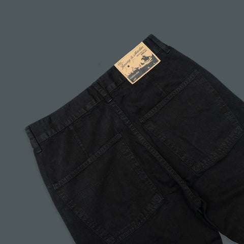 SLIM STRAIGHT LIGHT TWILL WORK PANTS 5 POCKET 963-2