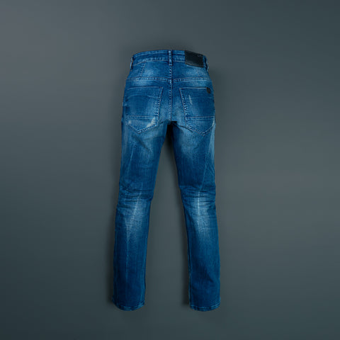 BASIC SLIM STRETCH DENIM PANTS P041