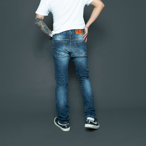 SLIM DENIM PANTS P046-1