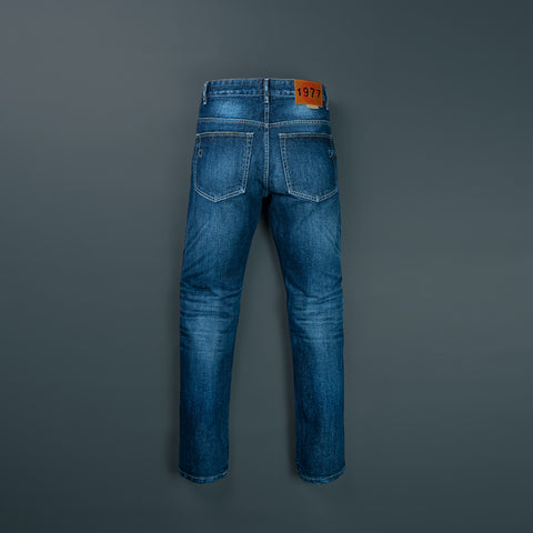 TAPERED DENIM PANTS P052-1