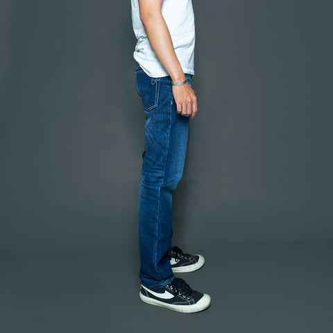 TAPERED DENIM PANTS P052-2