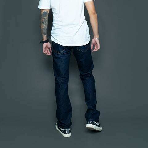 5 POCKET REGULAR BASIC STRETCH DENIM PANTS P800-1