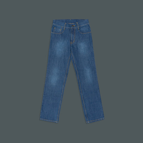BASIC REGULAR DENIM PANTS S200-6