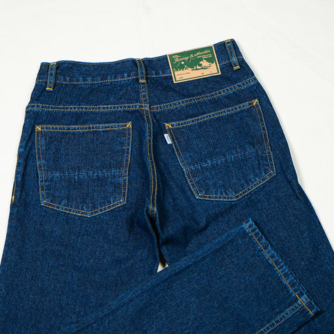 BASIC REGULAR DENIM PANTS S222