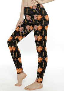Spellbook mom leggings