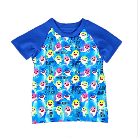 Baby Shark Boys Raglan