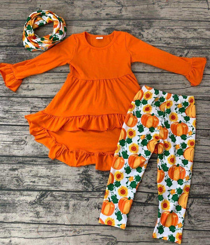 3pc fall pumpkin set