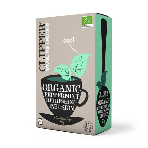 Organic Peppermint Infusion 20 bags
