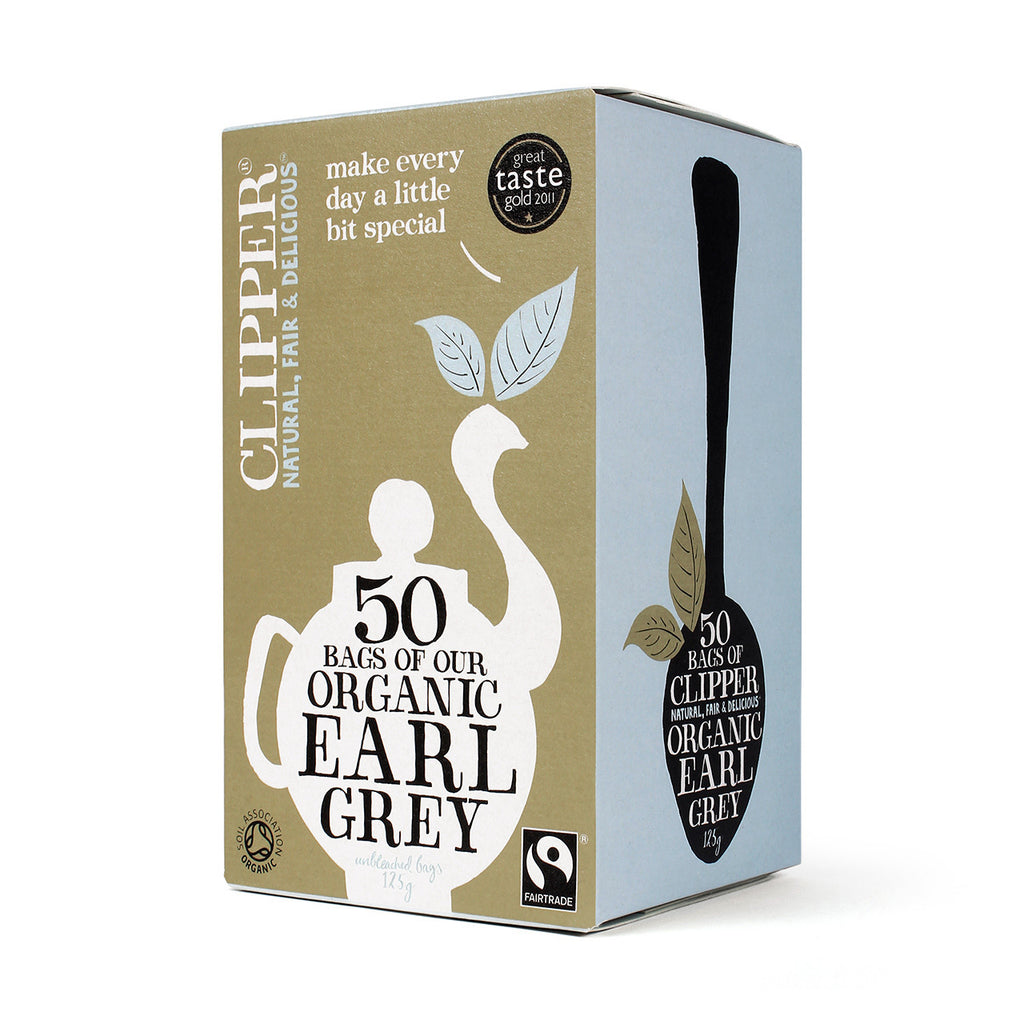 Organic Fairtrade Earl Grey Tea 50 bags