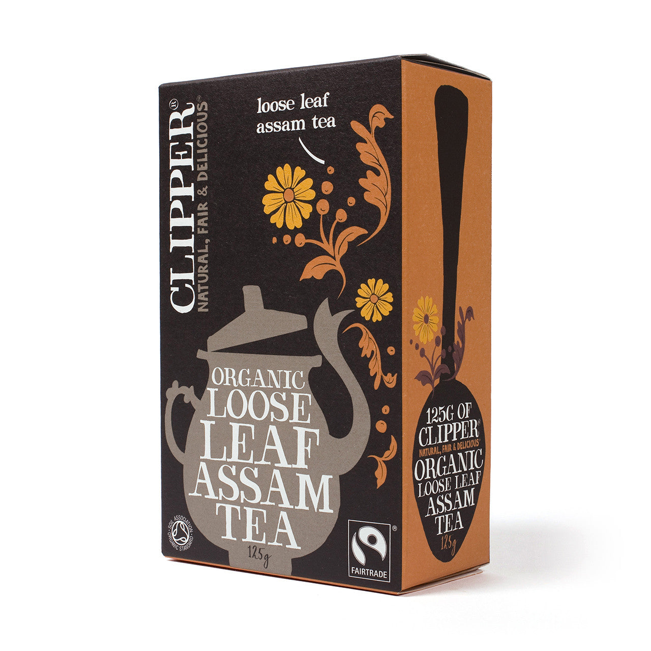 Fairtrade Organic Assam Tea loose leaf 125g