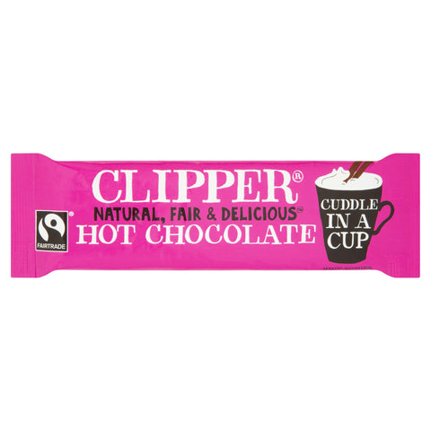 Natural Fair and Delicious Hot Chocolate Sachets x 100