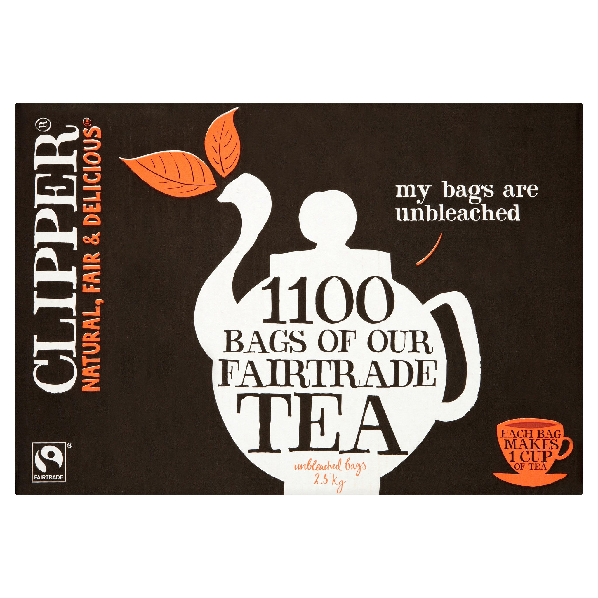 Fairtrade Tea 1100 bags