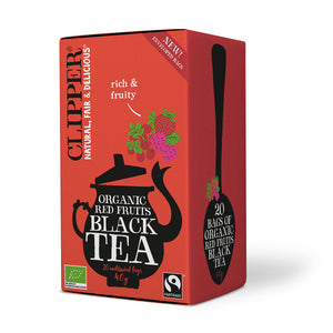 Organic Red Fruits Black Tea 20 Bags