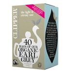 Organic & Fair Trade Earl Grey 40 Tea Bags