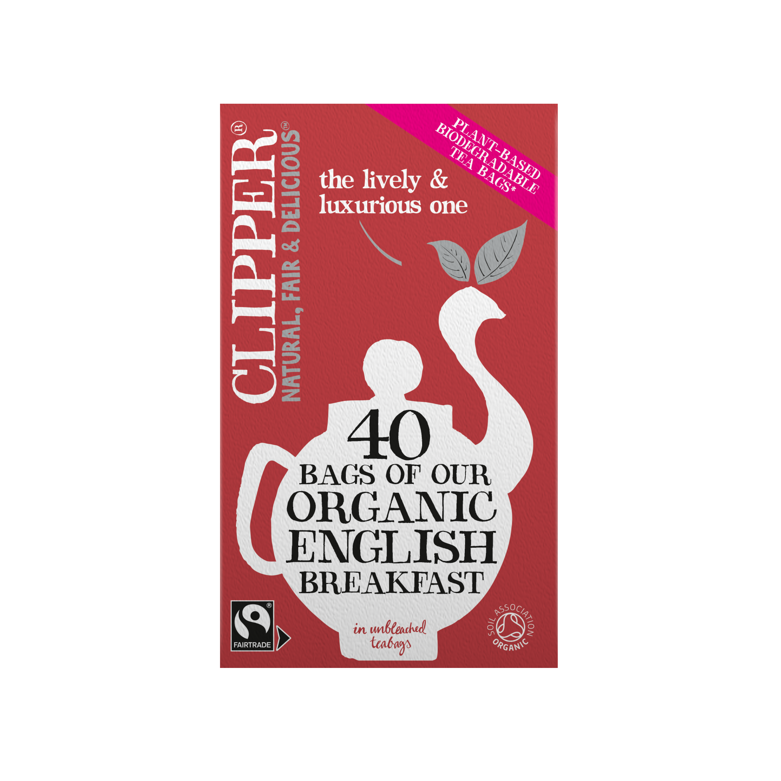 Organic & Fairtrade English Breakfast 40 Tea Bags