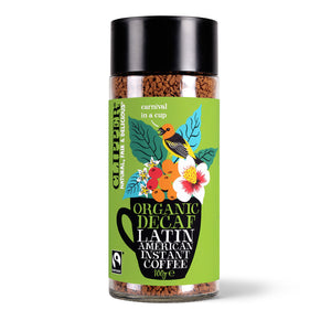 Fairtrade Organic Latin American Decaf Instant Coffee 100g