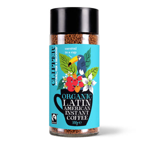 Fairtrade Organic Latin American Instant Coffee 100g