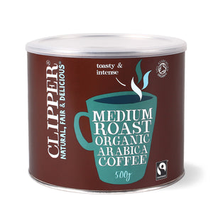 Fairtrade Organic Medium Roast Arabica Coffee 500g