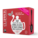 Organic Fairtrade English Breakfast Tea 80 bags