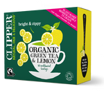 Organic Fairtrade Green with Lemon 80 bags