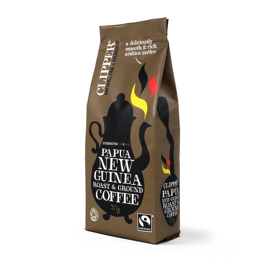 Fairtrade Organic Papua New Guinea Roast & Ground 227g