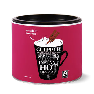 Fairtrade Seriously Velvety Instant Hot Chocolate 1kg
