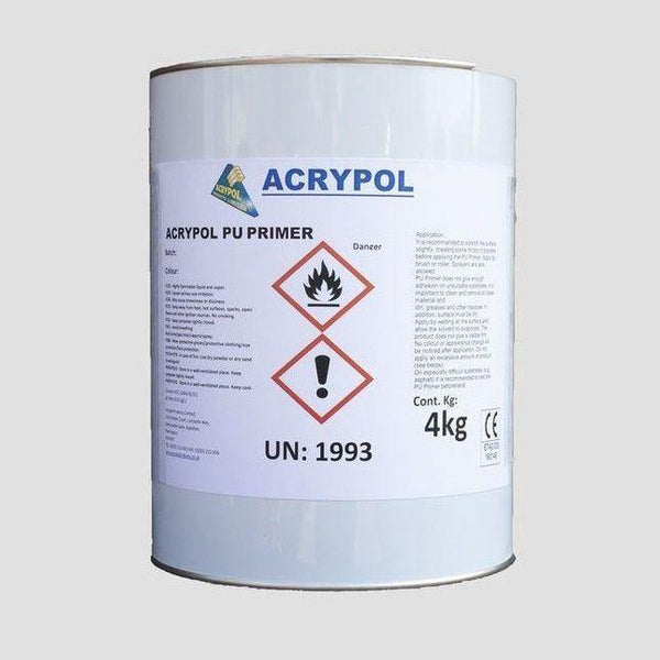 Acrypol TS PU Primer - 4kg - Roofing Supplies UK