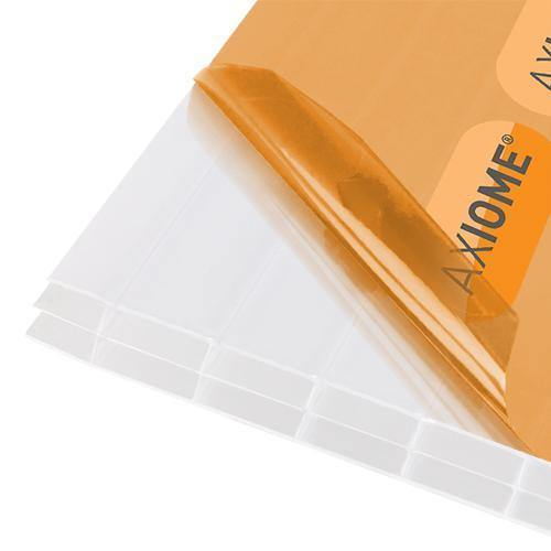 Axiome 16mm Opal Triplewall Polycarbonate Roof Sheets - Roofing Supplies UK