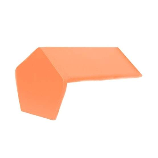 GRC 450mm Plain Angle Blockend Ridge - Roofing Supplies UK