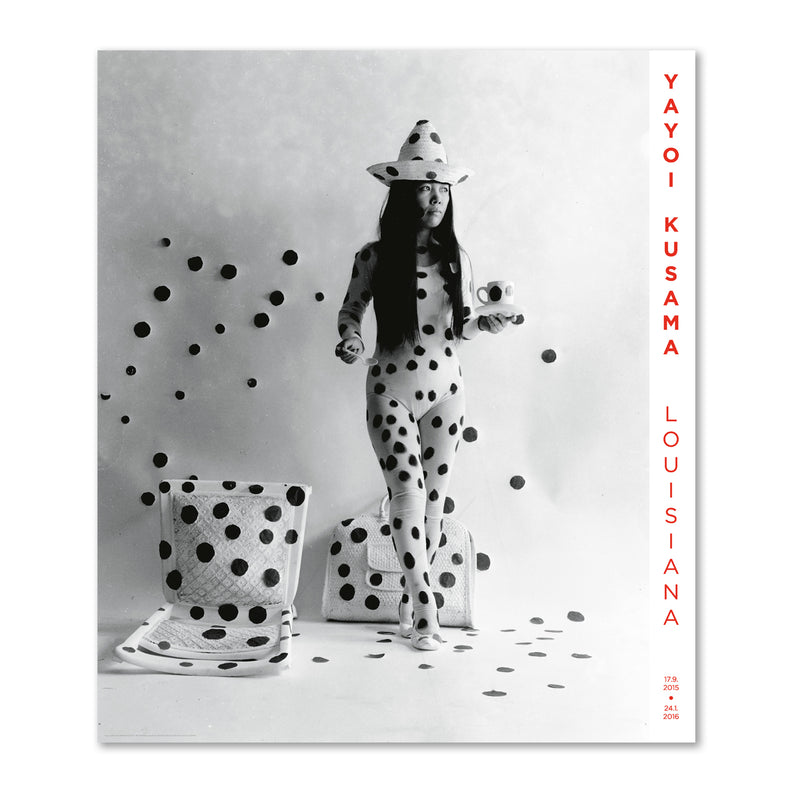 Yayoi Kusama - Self-obliteration by dots 1968
