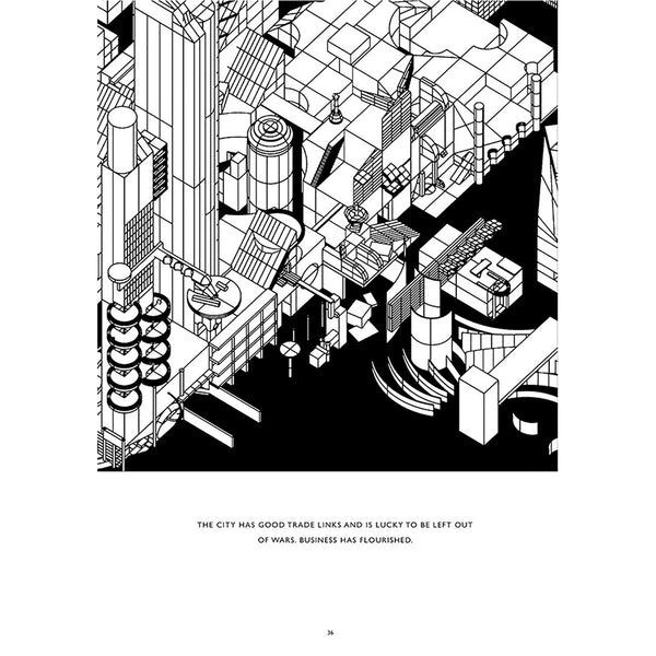 Blank State - An Architectural Coloring Book