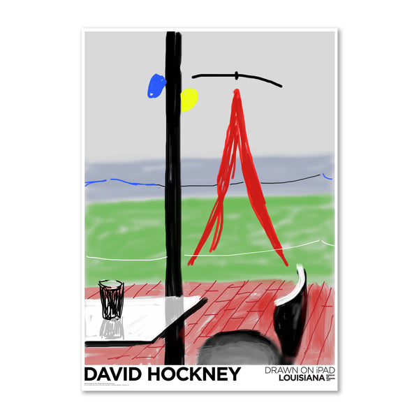 David Hockney - Me draw on iPad