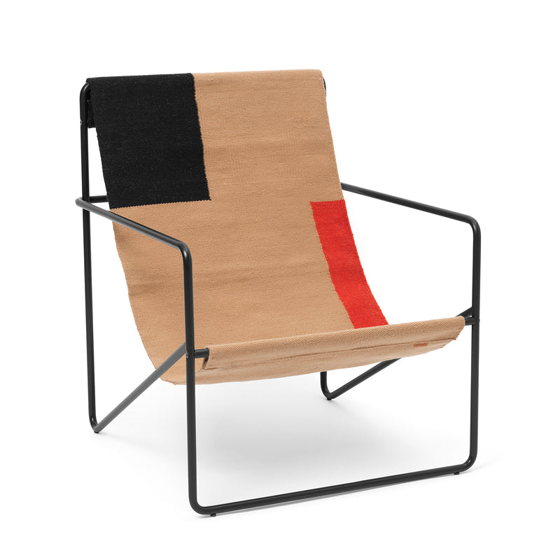 Desert lounge chair - block