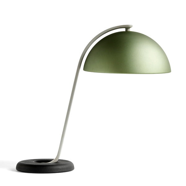 Cloche bordlampe - mint green