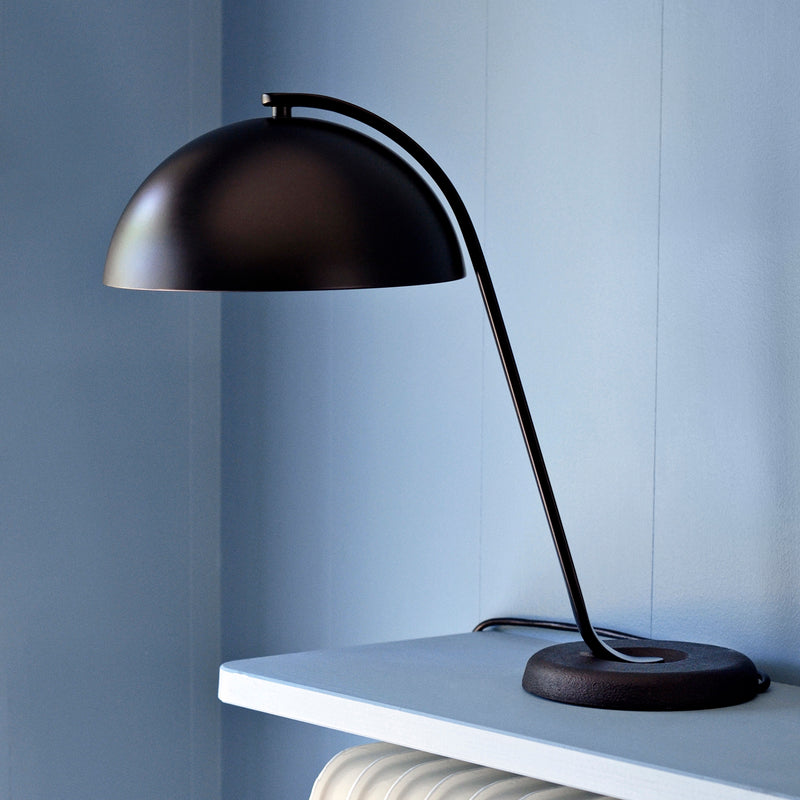 Cloche bordlampe - sort