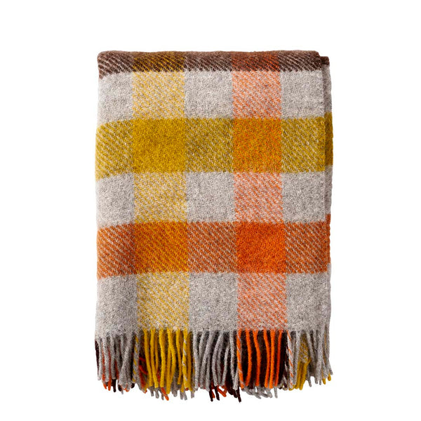 Plaid - Gotland Multi Yellow