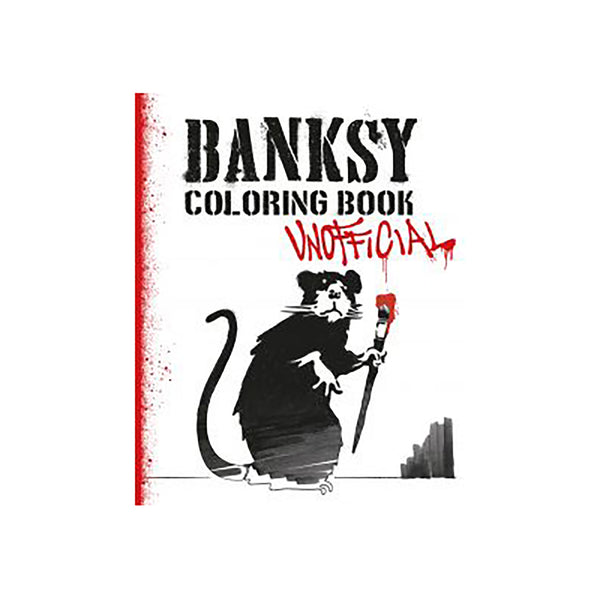 Banksy Colouring Book - Unofficial