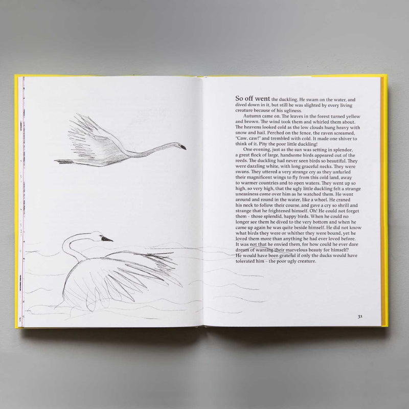 H.C. Andersen - The ugly duckling by Marina Abramović