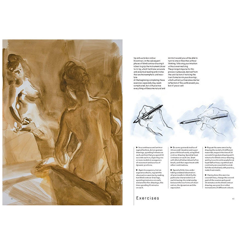 Human Figure Drawing - Drawing Gestures, Postures and Movements