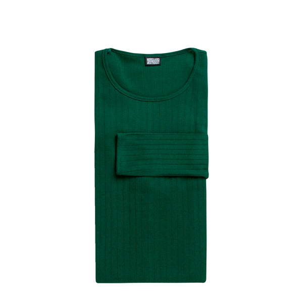 101 t-shirt solid colour - bottle green