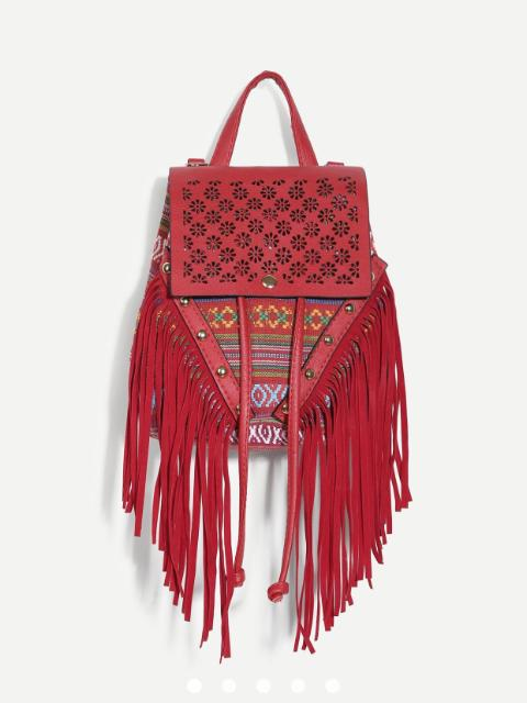 Mahi Fringe Book Bag