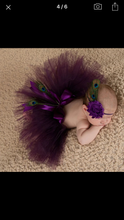 Load image into Gallery viewer, New Born Photography- Tutu & Headband
