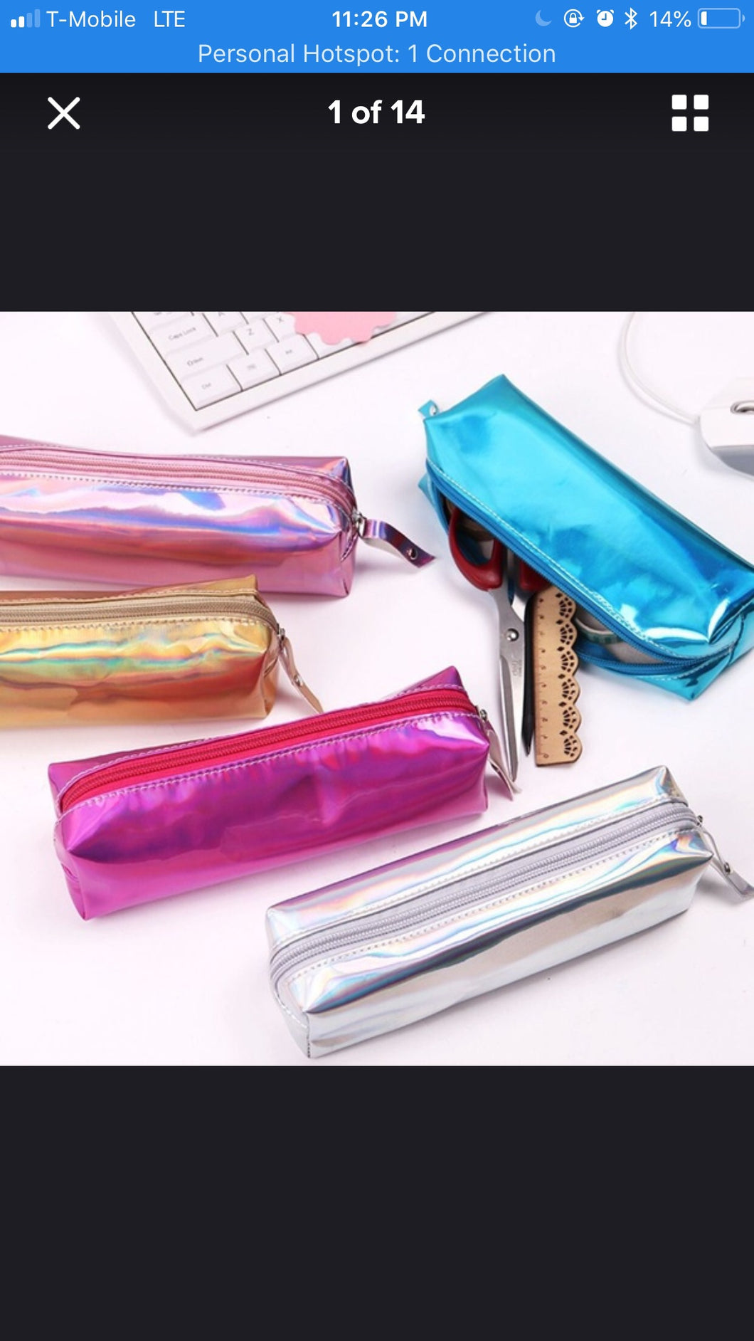 Make Up Bags- Travel Size