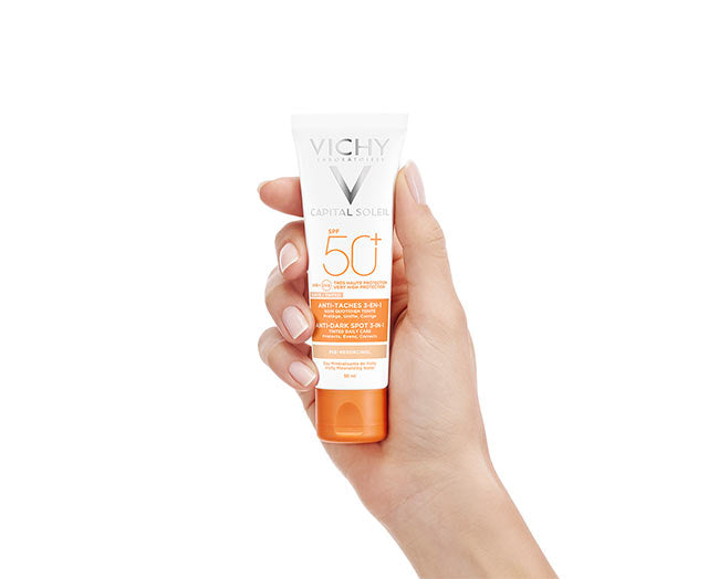 Capital Soleil 3-In-1 Tinted Anti-Dark Spots Care SPF50+